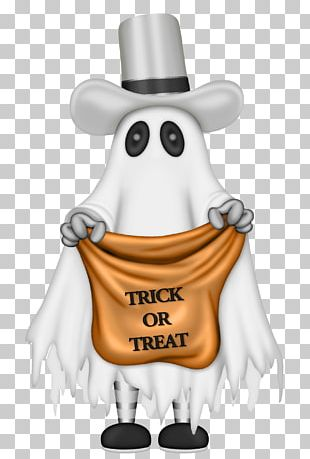 Halloween Spooktacular Trick-or-treating Ghost PNG