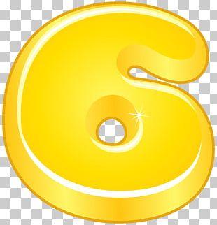 Numerical Digit Symbol Font PNG