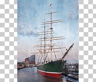 Sail Clipper Brigantine Barquentine PNG