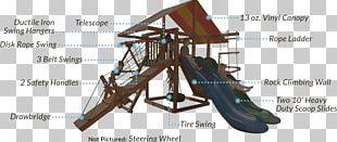 Swing Playground Slide Jungle Gym PNG