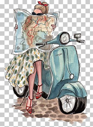 Paris Fashion Week 2012 Fashion Illustration Illustration PNG