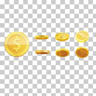 Hill Climb Racing Gold Coin PNG