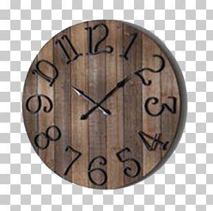 Table Clock Window Wood Wall PNG