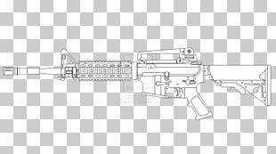 Gun Barrel Firearm Line Art Product Design Drawing PNG