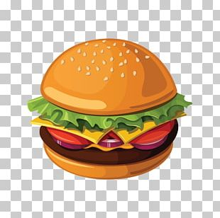 Hamburger Pizza French Fries Breakfast Fast Food PNG