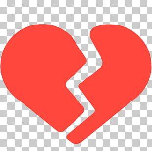 Emoji Broken Heart Love Emotion PNG