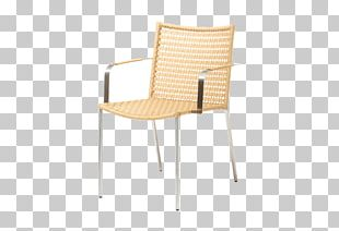 Chair Accoudoir Garden Furniture Wicker PNG