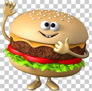 Hamburger Veggie Burger Fast Food Hot Dog PNG