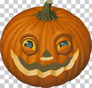 Pumpkin Squash Halloween Jack-o'-lantern PNG