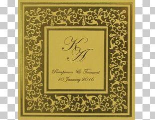 Wedding Invitation Calligraphy Envelope 3-fold PNG