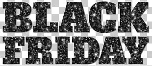 Candy Cane Black Friday PNG