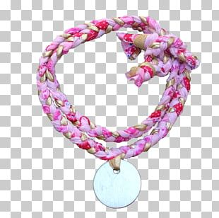 Bracelet Body Jewellery Necklace Pink PNG