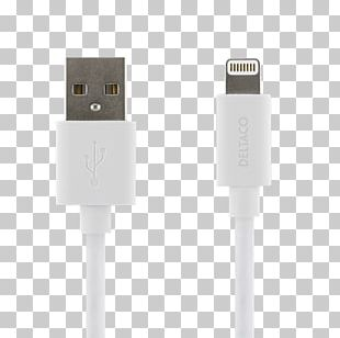Electrical Cable IPhone 5 Lightning Apple Micro-USB PNG