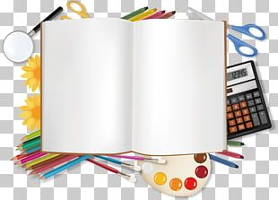 Stationery Office Supplies Illustration PNG