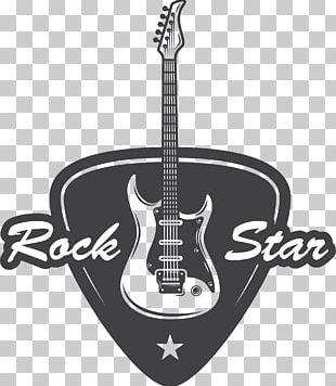 Bass Guitar Rock Music Stock Illustration PNG