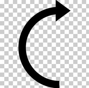 Semicircle Curve Arrow Shape PNG