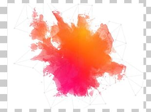 Watercolor Painting Splash PNG