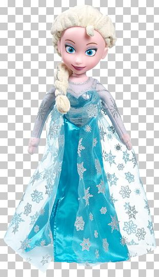 Elsa Anna Frozen Olaf Doll PNG