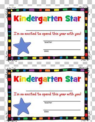 Pre-school Kindergarten Diploma Academic Certificate PNG