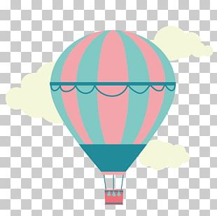Hot Air Balloon Animation PNG