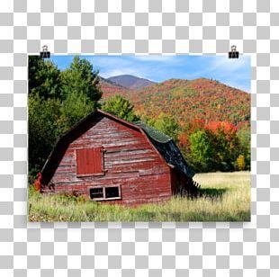 Adirondack High Peaks House Shed Log Cabin Cottage PNG
