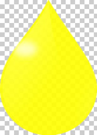 Drop Yellow Color PNG