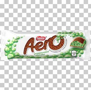 Chocolate Bar Aero Milk Peppermint PNG