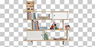 Shelf Bookcase Child Table PNG