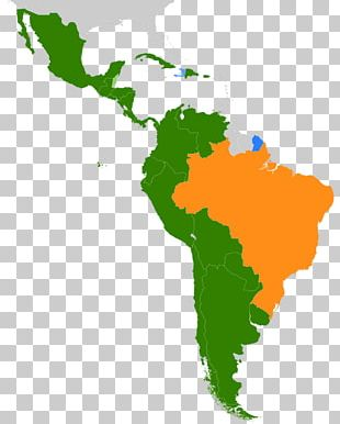 Latin America The Guianas United States Central America Caribbean PNG