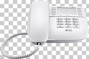 Corded Analogue Gigaset DA510 No Display Telephone Gigaset Phone Da410 Black Home & Business Phones Gigaset DA210 PNG