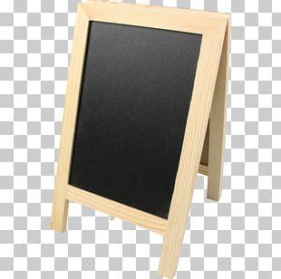 Easel Wood Sandwich Board Standard Paper Size PNG