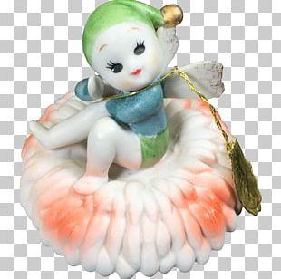 Figurine Fairy Pixie Doll Porcelain PNG