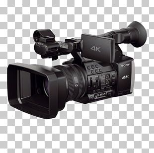 Sony Handycam FDR-AX1 Video Cameras 4K Resolution PNG