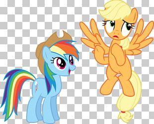 Pony Applejack Rainbow Dash Pinkie Pie Rarity PNG