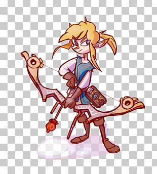 The Legend Of Zelda Breath Of The Wild Link Fan Art Video