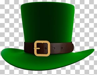 Saint Patrick's Day Hat Leprechaun Shamrock PNG