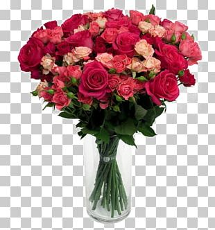 Vase Flower Bouquet Rose Floral Design PNG
