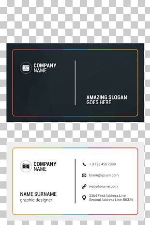 Business Card Visiting Card Creativity PNG