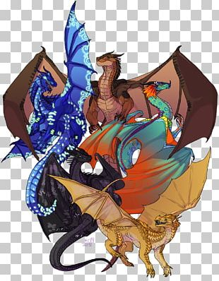 Wings Of Fire Drawing Dragon PNG