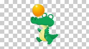 Crocodile Cartoon PNG