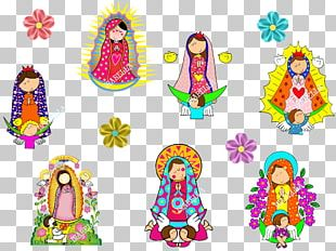 Illustration Our Lady Of Guadalupe Product Line PNG