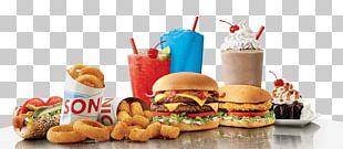 Fast Food Restaurant Hamburger Slush Sonic Drive-In PNG
