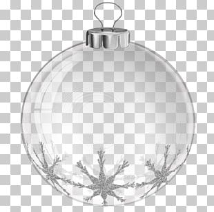 Christmas Ornament White PNG