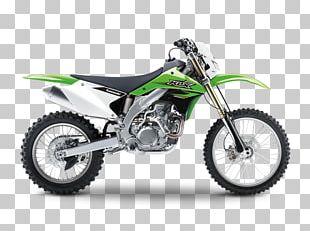 Kawasaki KLX450R Motorcycle Kawasaki Heavy Industries Four-stroke Engine PNG