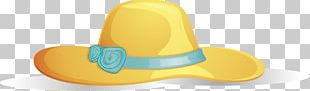Hat Yellow Shoe PNG