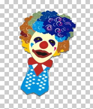 Clown April Fools Day Cartoon Poster PNG