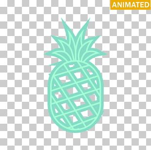 Pineapple Product Design Font PNG