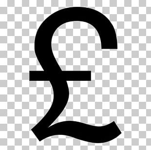 Pound Sign Pound Sterling Currency Symbol Indian Rupee Sign PNG