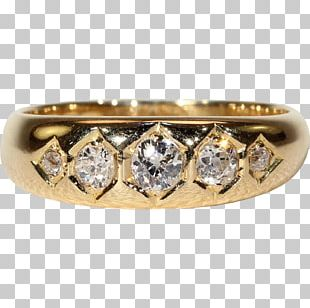 Wedding Ring Diamond Crown PNG