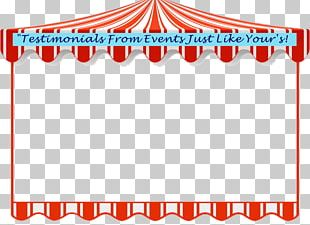 Circus Carnival Tent Wipeout PNG